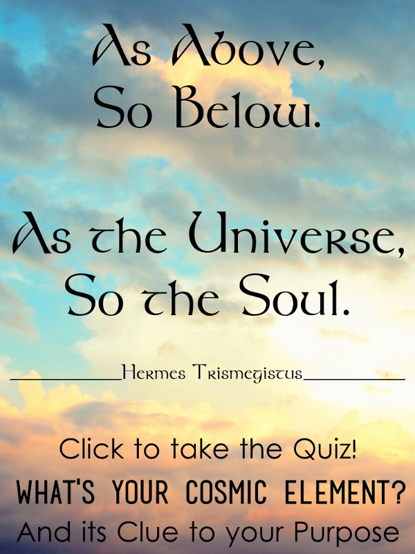 QUIZ: What's Your Cosmic Element? How is it a Clue to Your Purpose?