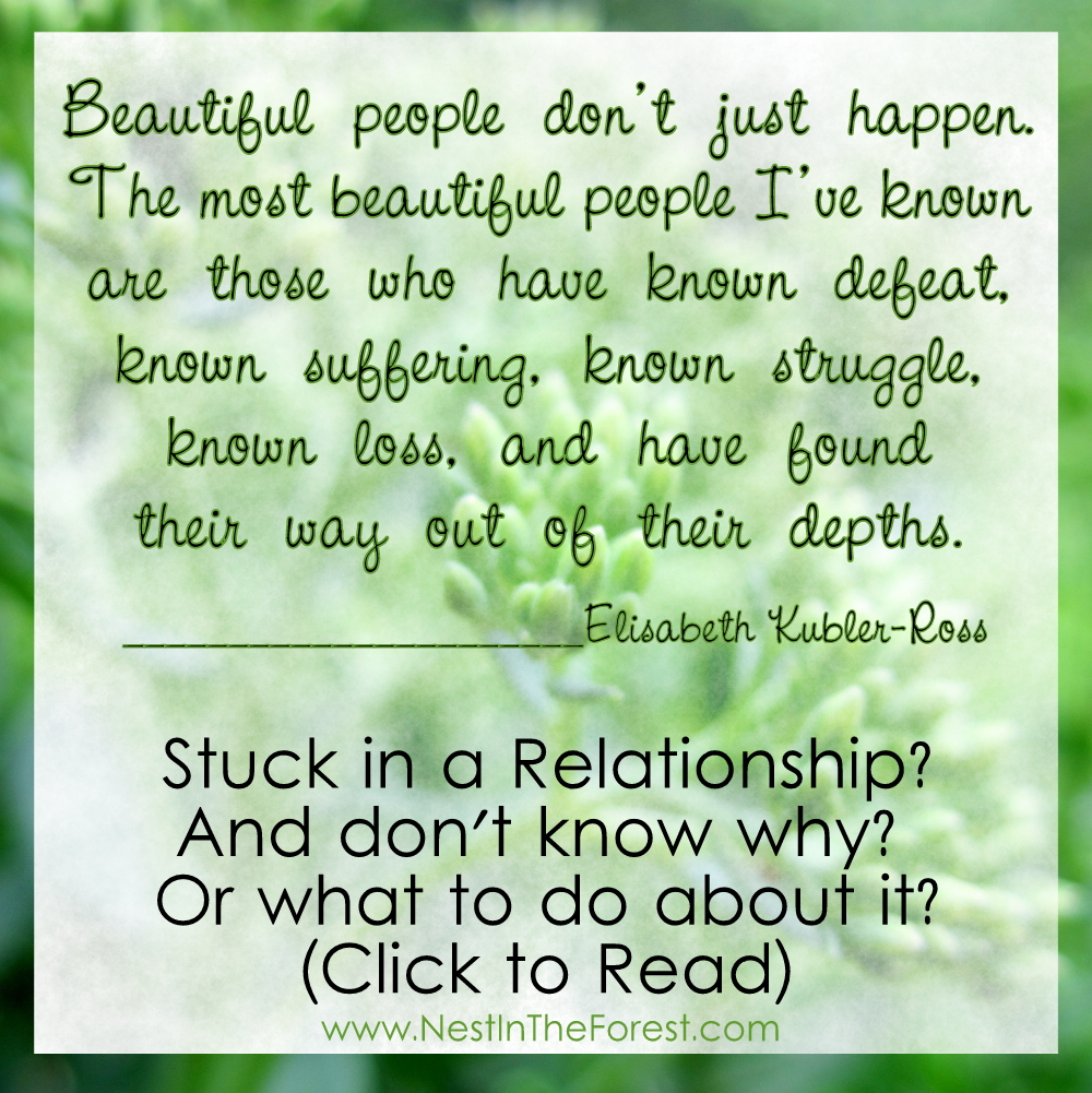 Are you stuck in a relationship? And don't know why? Or what to do about it?