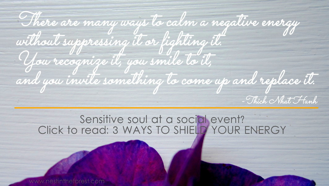 sensitive soul at a social event? 3 ways to shield and protect your energy