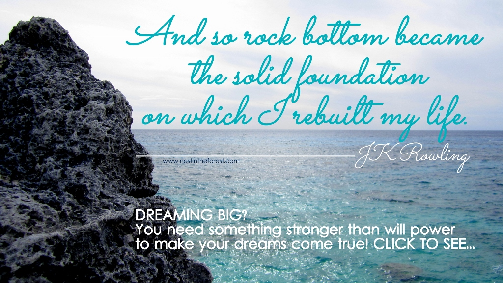 Dreaming big? You need something stronger than will power to make your dreams come true. Click to see...